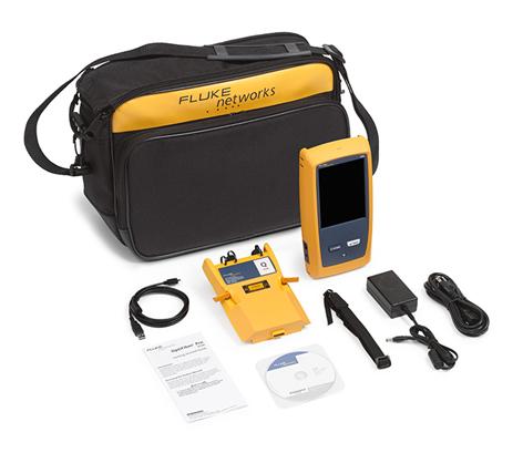 Fluke Networks OptiFiber Pro Quad OTDR V2 kit with Wi-Fi